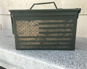 Custom Ammo Box Personalized