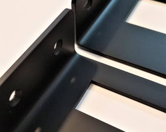 "Insertion Style Square Shelf Brackets, for 1"" Lumber"