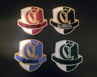 Quidditch Captain House Patches