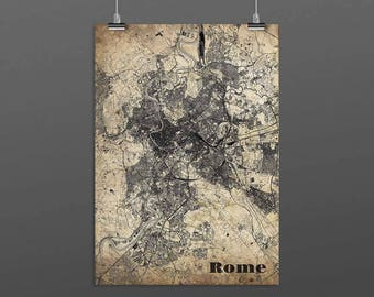 ROME-Din A4/DIN A3-Print-Vintagestyle