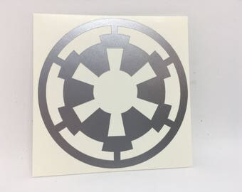 Star Wars Imperial Crest Vinyl Decal
