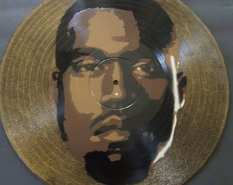Kanye West Spray Paint Art, 12 inch Vinyl Record