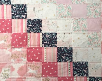 Mermaids & Unicorns Quilt