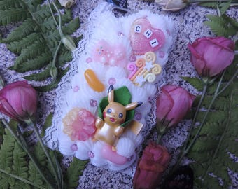 Ready to ship! IPhone 6 / 6s Pokemon Pikachu decoding case
