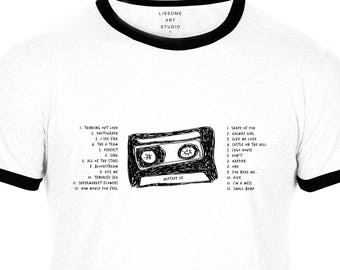 Mixtape T-Shirt ED SHEERAN by Lissome Art Studio