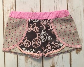 Boho Size 2T Bike Shorts