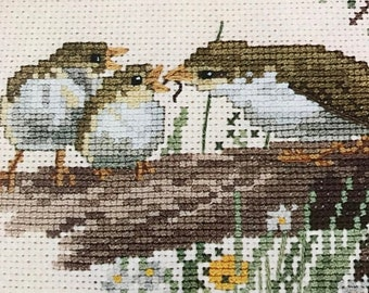 SPRINGSALE Vintage The Country Diary Collection counted cross stitch book 19, oop