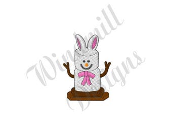 Easter Bunny Smore - Machine Embroidery Design