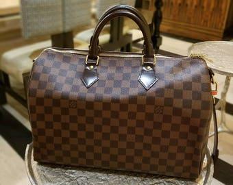 Louis Vuitton speedy 35 bandolier