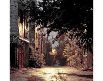 Lane street Montreal