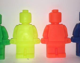 Lego men soap