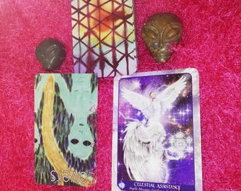 2 CARDS TAROT + ORACLE Reading / Give and Receive Love