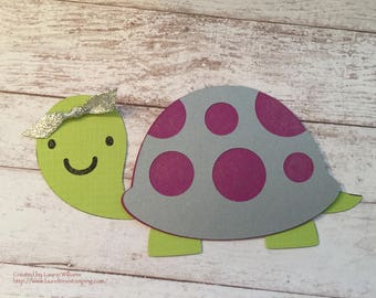 SAMPLE Listing for Birthday Card - Kids, Child's Birthday Card, Turtle Card, Handmade Paper Card, Fun Birthday Card,