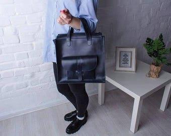 Large bag for women, large leather bag, everyday handbag women, leather womens bag , bag for work, large vintage womens bag
