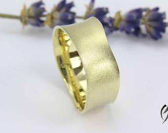 Ring Gold 585/-, manual work