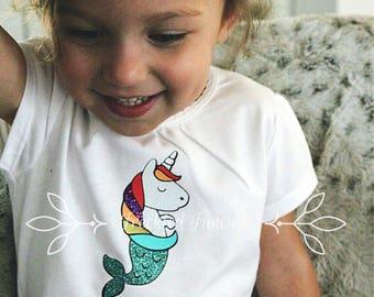 Unicorn Mermaid T-shirt