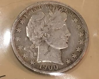 1900-O Barber Half Dollar, New Orleans Mint,