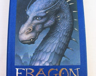 ERAGON by Christopher Paolini ~ Book 1 Inheritance 1st Edition ~ Dragon Fantasy