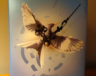 Mocking Jay Book Clock