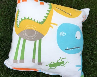 Children's Dinosaur Cushion Cover