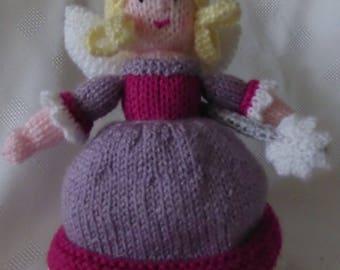 Good fairy/bad fairy topsy turvy doll