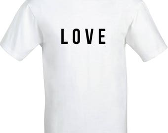 Love Shirt / Romantic Gift / Lovers Clothing / Lovely Present / Loved Up / Love to Shop / Love Gift / T Shirt Design / Love Is / Beautiful