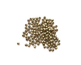 bronze 1000 spacer beads 3 mm