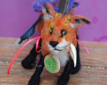 animals/artifacts---red fox