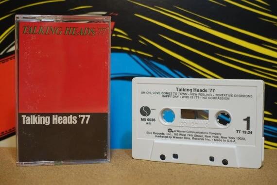 Talking Heads '77 by Talking Heads Vintage Cassette Tape