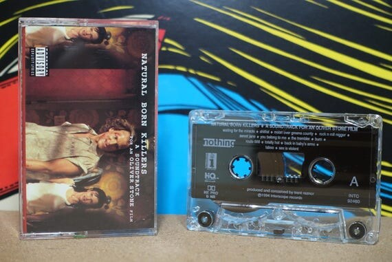 Natural Born Killers: A Soundtrack For An Oliver Stone Film by Various Artists Vintage Cassette Tape