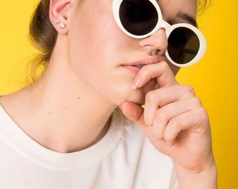 Vintage Oval Glasses