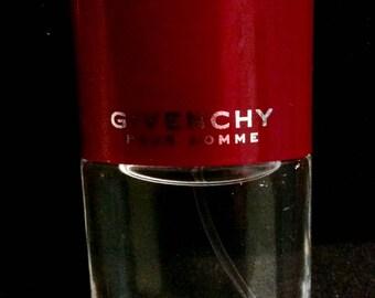 GIVENCHY Pour Homme Eau de Toilette Spray .4 Fl. Oz. Travel Size For Men Givenchy Pour Homme  de Toilette EDT Spray Men's Cologne EDT