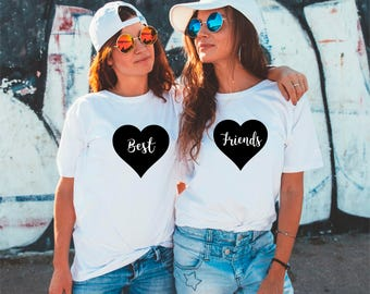 Best Friends T-shirts, Best Bitches Shirts, BFF Shirt, Best Friends, Besties T-shirt, Matching Best Friend, BFF Gifts