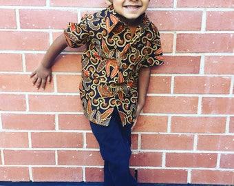 Batik Shirts for Boys