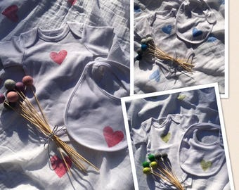 Swaddle Gift Set / Newborn Swaddle Set / Swaddle Set / Receiving Blankets / Swaddle Blanket / Baby Wrap Blanket / Baby Wrap / Hand stamped