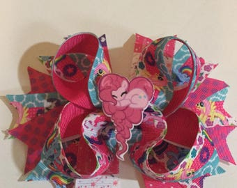 My little pony hair bows hairbow