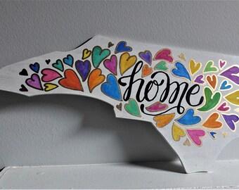 North Carolina Home Sign