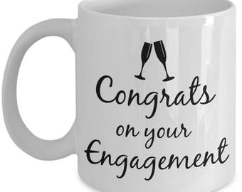 Bride to Be Mug | Newly Engaged | Fiance' |Sentimental Keepsake Coffee Mugs are Best Engagement Gifts for a Girlfriend Daughter | 11 oz Cup