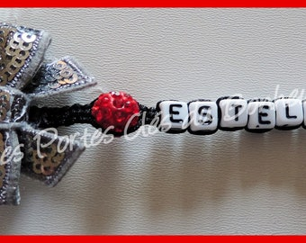 key 1 name per black and Red noeurdgris heart.