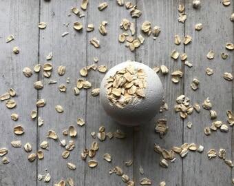 Oatmeal, Milk, & Honey Bath Bomb