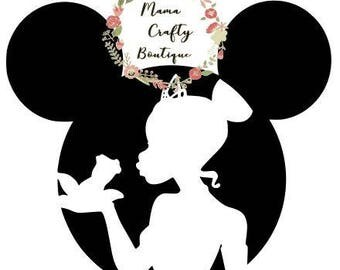Princess and The Frog Mickey Ears SVG,PNG, DXF