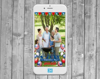 4th Of July Snapchat Geofilter