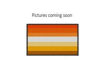 Butch Pride Flag, Lesbian Pride Flag, Butch Pride Flag Patch, Lesbian Pride Flag Patch, Pride Flag, Sew on Patch, Pride Pin, Iron on Patch