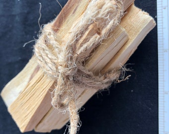 RRS: All Natural PALO SANTO Wood Incense - South America - 100% Sustainable