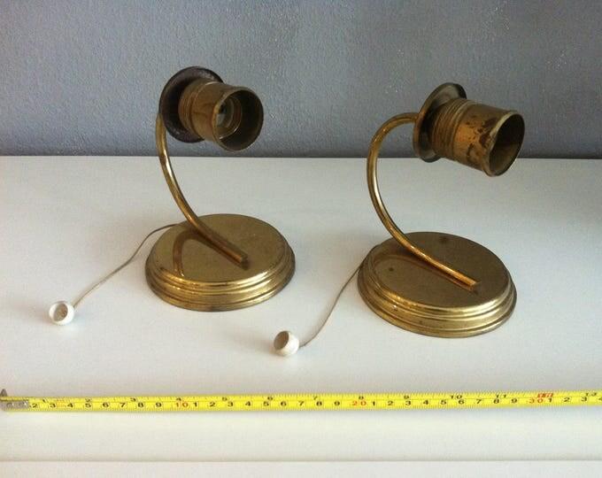 Antique Night Lamp Pair Art Deco Table Lamp Decoration
