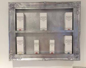 Salon storage shelf organizer beauty salon rack