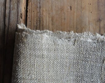 handwoven HEMP _ fabric by yard (for raw  accessories and / or home decor _ rugs, table decor)