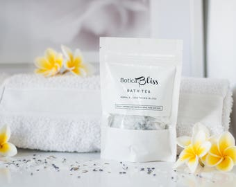 Bath Tea,Herbal bath,Gift for 10,Natural Skin Care,Gift for friend,Birthday gift,Vegan Skincare,Bath Soak,Flower Bath,Gift for New Mum,BB3