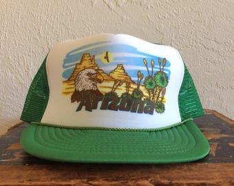Vintage Arizona Mesh Trucker Hat