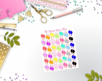 Balloon Icons | Planner Stickers